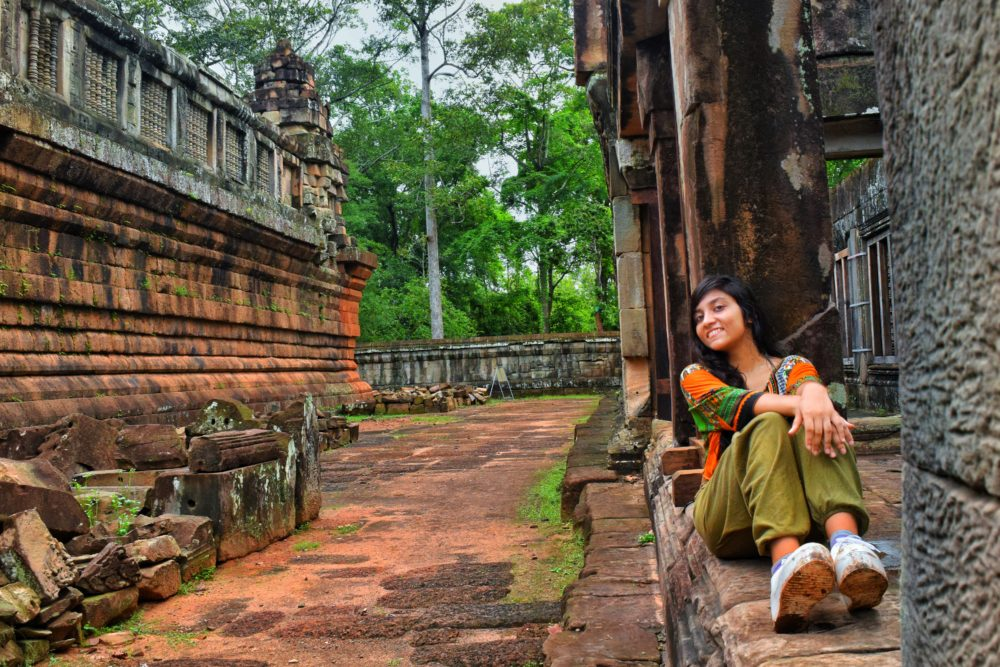 Traveling solo to Ta Keo Temple, Siem Reap