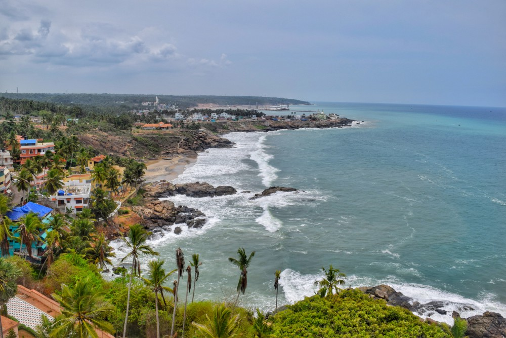 Kovalam from the Lighthouse
