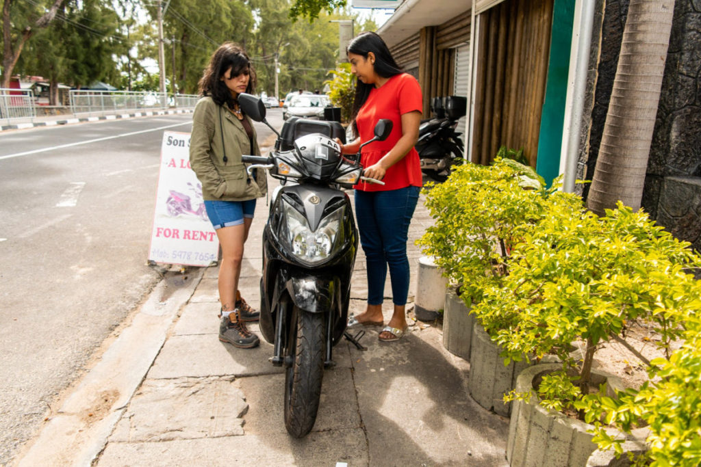 Scooty Rental in Mauritius