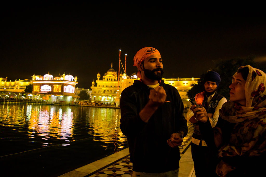 Golden Temple Tour With City On Pedals