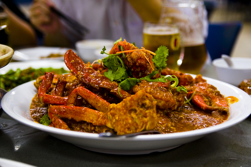 Chilli Crab, Southeast Asia Food