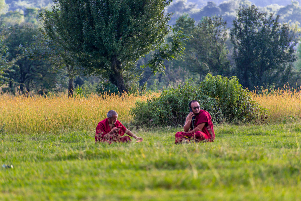 Monks at Bir Billing
