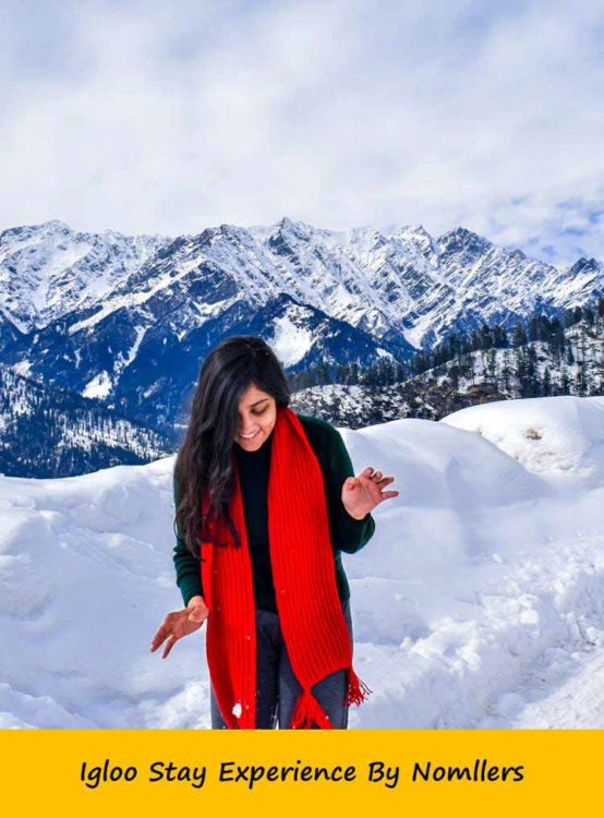 Igloo Stay Manali
