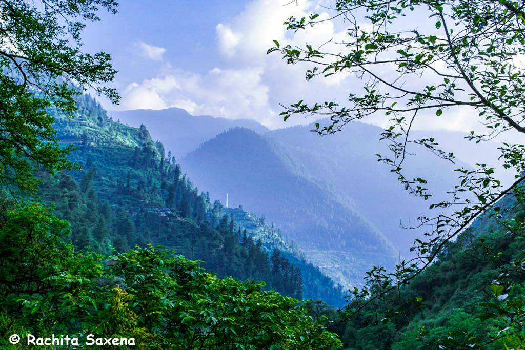 Tirthan Valley Trek View, things to do in Tirthan Valley
