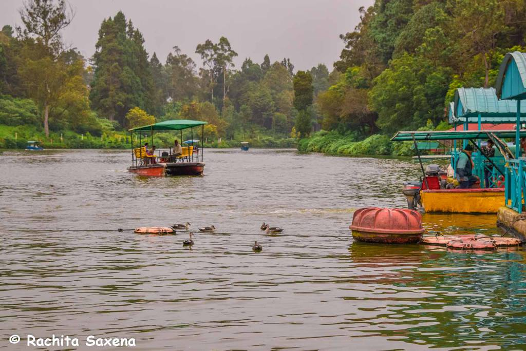Ooty Lake, Ooty Itinerary
