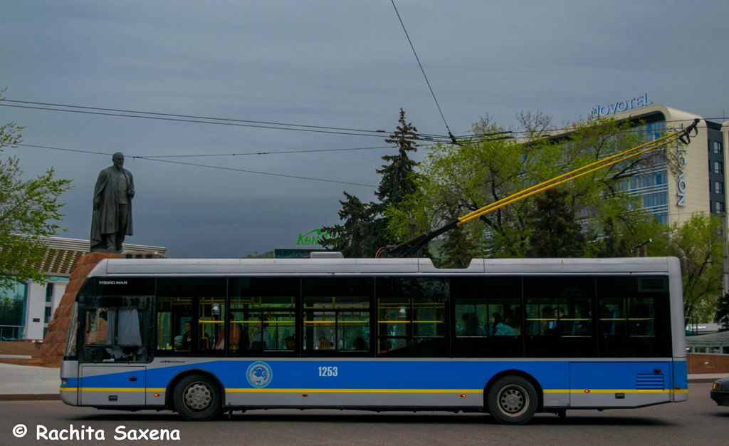Buses in Almaty