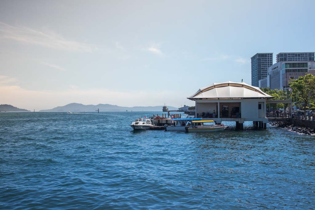 View from the Waterfront of Kota Kinabalu