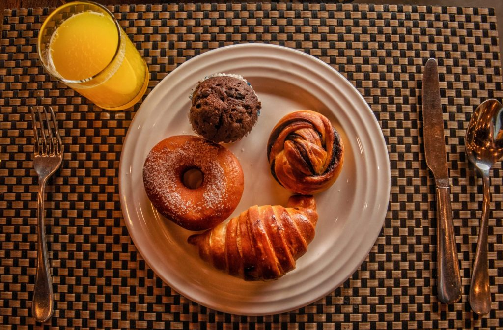 Breakfast Options at Aahana Resort