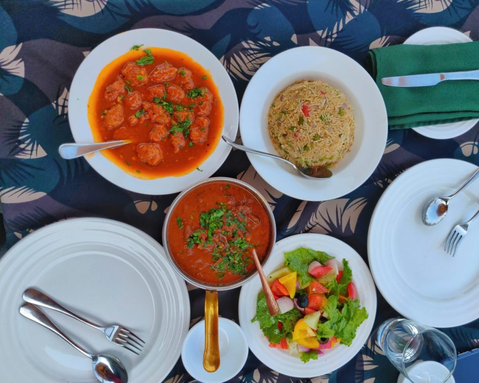 Food at Aahana Resort