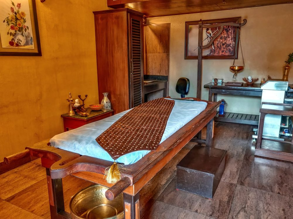 Ayurvedic Spa Room